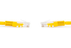 Ethernet. Photo LAN network connection Ethernet Royalty Free Stock Images