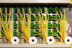 Ethernet-Schalterbaugruppe Stockfotos