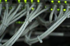 Ethernet sieci zmiana Fotografia Stock