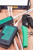 Ethernet switch Stock Photo