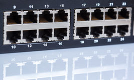 Ethernet switch Royalty Free Stock Images