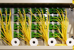 Ethernet switching module Stock Photos