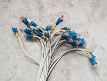 Ethernet vieux Photos stock