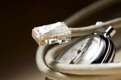 Etherneta kabel Obrazy Royalty Free