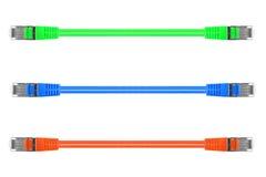 Etherneta kabel Fotografia Stock