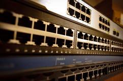 Ethernetschakelaar Stock Afbeeldingen