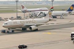 Ethiad A330 Imagem de Stock