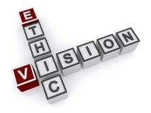 Ethic vision sign Stock Photo