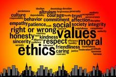 ethics Fotografía de archivo libre de regalías