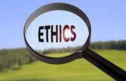 ethics Imagen de archivo libre de regalías