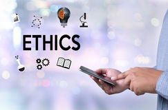 ETHICS , Business Team ETHICS , Business Ethics Integrity Honest. Y Trust and Business , Justice Law Order Legal Ethics , Ethical and Legal  , Business Ethics Royalty Free Stock Image