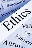 Ethics Concept Stock Photo