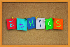 Ethics Concept Royalty Free Stock Photography