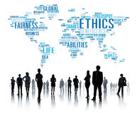 Ethics Ideals Principles Morals Standards Concept.  Stock Photography