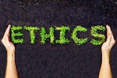 Ethiek/csr royalty-vrije stock afbeeldingen