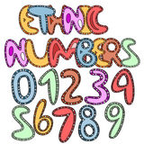 Ethinic numbers Stock Photos