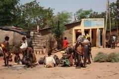 Ethiopia. Market day in turmi village ethiopia Stock Photos