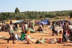 Ethiopia. Market day in turmi southern ethiopia Stock Images