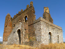 Ethiopia. Abandoned fort near Gonder in Northern Ethiopia Stock Images