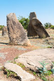 Ethiopia. Addis Ababa, the funerary steles of the Tiya archaeological site Stock Photo