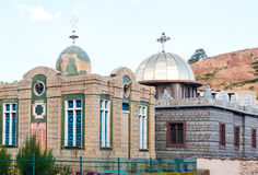 Ethiopia. Axum, the ancient church of Our Lady Mary of Sion that is said to house the Ark of Covenant Royalty Free Stock Image