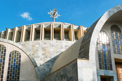 Ethiopia. Axum, the modern church of Our Lady Mary of Sion Royalty Free Stock Photography
