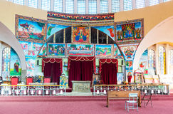Ethiopia. Axum, the modern church of Our Lady Mary of Sion Stock Photo