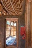 Ethiopia. Bahir Dar,  the hut shape inside of orthodox church of Azwa Mariam Stock Image