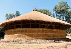 Ethiopia. Bahir Dar, the hut shape orthodox church of Azwa Mariam Royalty Free Stock Photos