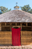 Ethiopia. Bahir Dar, the hut shape orthodox church of Azwa Mariam Royalty Free Stock Image