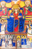 Ethiopia. Bahir Dar, the medieval  holy paintings of  the Betremariam Ortodox monastery Royalty Free Stock Image