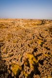 Ethiopia, Danakil depression, geological formations stock photography