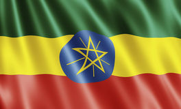 Ethiopia Flag Royalty Free Stock Image