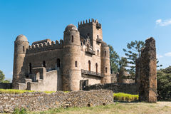Ethiopia. Gondar, the Emperor's palace Stock Image