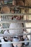 Ethiopia huts Royalty Free Stock Photos