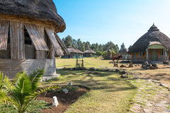 Ethiopia. Kosoye, a resort in the area of the Semien mountains Royalty Free Stock Image