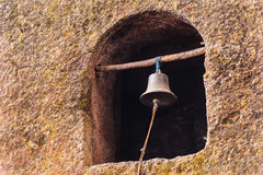 Ethiopia, Lalibela. Moniolitic rock cut church Royalty Free Stock Images