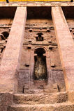 Ethiopia, Lalibela. Moniolitic rock cut church Royalty Free Stock Photography