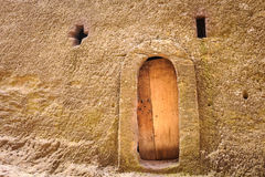Ethiopia, Lalibela. Moniolitic rock cut church Stock Photo