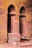 Ethiopia, Lalibela. Moniolitic rock cut church Stock Photos