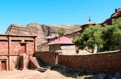 Ethiopia. Macalle, the old Abreha Atsbeha rock church Stock Image