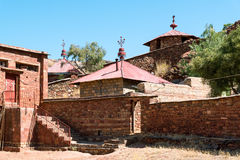 Ethiopia. Macalle, the old Abreha Atsbeha rock church Stock Images
