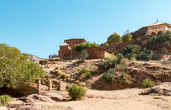 Ethiopia. Macalle, view of the old Abreha Atsbeha rock church Stock Photography