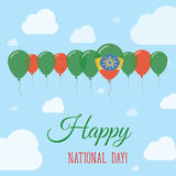 Ethiopia National Day Flat Patriotic Poster. Stock Photography