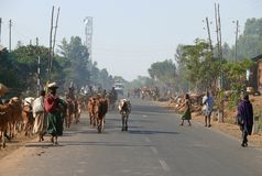 ETHIOPIA - NOVEMBER 24. Stock Images