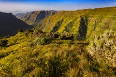 Simien Mountains, Ethiopia Royalty Free Stock Images