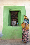ethiopia sklep spożywczy harar sklep Obraz Royalty Free