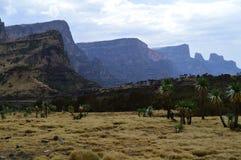 Ethiopia. Travel to Simien mountains. East African rift. East African rift. On the road to the highest point of Ethiopia, Ras Dashen stock photos
