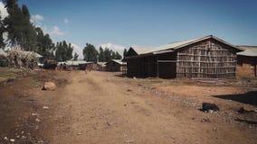 ethiopia wioska zbiory wideo