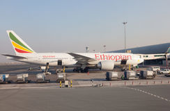 Ethiopian Airlines Boeing 777-200 Royalty Free Stock Photo